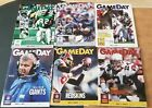 New York Giants RARE Gameday Programs YOUR CHOICE Playoffs Special Games on eBay