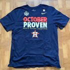NIKE World Series Champions Houston Astros OCTOBER PROVEN T-Shirt