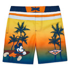 MICKEY MOUSE DISNEY UPF-50 Bathing Suit Swim Trunks NWT Toddler's Size 2T or 4T