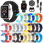 Replacement Silicone Sport Band Strap For Apple Watch Series 4/3/2/1 42mm 38mm image