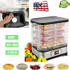 Electric Food Dryer Food Dehydrator Machine Jerky Beef Fruit Vegetable 8 Trays