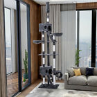 Adjustable Cat Tree Scratching Post Tower Cat Activity Centre 240-260cm High Top