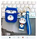 Gift Apple Airepods Wireless Charging Case for Gen 2 with Doraemon Key Chain