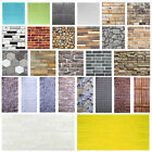 3d Wall Paper Brick Stone Rustic Home Decor Self-adhesive Wall Sticker Vinyl Art