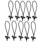 Multipurpose Extra Thick Elastic Cable Tie/Toggle Tie Cable Management Reusable