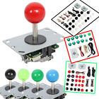 2 Player Arcade Game DIY Kit Push Button Joystick Controller Handle USB Encoder