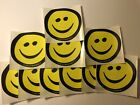 """WORMTOWN BEER SMILEY FACE STICKER LOT of 10 BE HOPPY IPA  4"""" PROMO WORCESTER MA"""