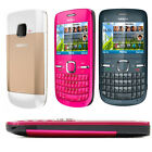 Unlocked Nokia C3-00 Wifi Qwerty Keypad Camera Original Mobile Bar Cell Phone Uk