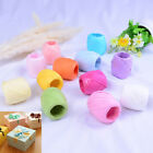 1Roll raffia ribbon cord packaging paper rope packing wedding party decoratioRGS