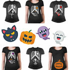 Funny Halloween Skeleton Maternity Costume T-Shirt Pumpkin Smuggler Witch Singer
