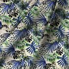 Leaf Cotton Fabric Sewing Quiliting Crafting & Dress Making 44 Inch Wide