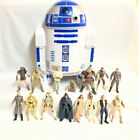 Star Wars Kenner Action Figure With R2D2 Storage Box Huge Lot 1998 by Hasbro