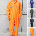 Men Motorcycle Rain Suit Raincoat Overalls Waterproof Work Jumpsuit Outdoor USA $33.24 USD on eBay