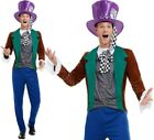 Mens Mad Hatter Fancy Dress Costume Adult Hatter by Smiffys.