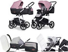 RIKO 2IN1 SWIFT NATURAL Scarlet Stroller Passeggino Pram Kinderwagen Poussette <br/> Wózek 2w1 głęboko spacerowy Riko Swift Natural 01