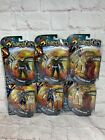 Lot Of 6 Ban Dai Cartoon Network Thindercats New In Package.