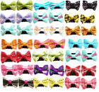 Mixed Small Dog Hair Clips With Bows Pet Puppy Cat Hairpin Hair Grooming Product