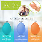 Exercise Grip Ball Egg Hand Grips Strength Trainer Stress Relief Finger Squeeze image