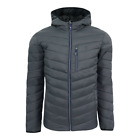 IZOD Men's Quilted Full Zip Puffer Jacket