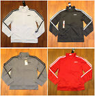 adidas Youth Boys Track Jacket Size S 8 M 10 12 L 14 16 XL 18 20 New