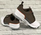 Footjoy FJ Contour Fit Golf Men's Golf Shoes White/Brown 54096