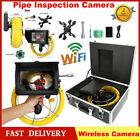 "Wireless WiFi 7"" LCD 1080P HD Underground DVR Video Camera Surveillance System"