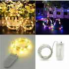 Led Bottle Copper Wire String Fairy Lights Xmas Wedding Home Party Decorate