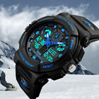 Men's Date Quartz Military Shock Digital Tactical Sport Fashion Wrist Watch US image