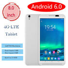 8 Inch 4G-LTE Tablet PC Android 6.0 Ultrathin 2 16GB Dual Camera Phablet PC