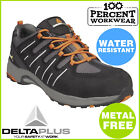 Metal Free Security Detector Lightweight Mens Safety Work Trainers Shoes Toe Cap