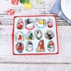 12Pcs Christmas Tree Pendant Party Supplies Hanging Pendant for Christmas Door