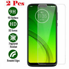 For Motorola Moto G7 Power/G7 E6 Z4 Z3 Play Plus Tempered Glass Screen Protector