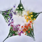 Artificial Bunch Fake Silk Daisy Flower Bouquet Home Wedding Party Decoration