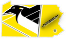 PA Pennsylvanian State Pittsburgh Penguins NHL Retro Vinyl Sticker Decal Car $14.99 USD on eBay