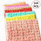 144pcs Artificial Foam Mini Roses Head Small Flowers Wedding Home Party Decor Us
