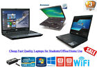 "Cheap Fast Window 10 Laptop Dell/hp/lenovo Core 2 Duo 160gb 4gb Ram 14.1"" Screen"