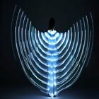 LED Dress Belly Dance LED Isis Wings Egyptian Club Light Up Show Wings Party