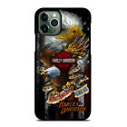 COOL HARLEY DAVIDSON EAGLE iPhone 6/6S 7 8 Plus X/XS Max XR 11 Pro Case $20.97 CAD on eBay