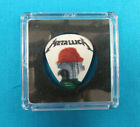 Metallica World Wired Tour Miami 07/07/17 Guitar Pick in Case