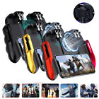 Six-Finger Mobile Phone Game Controller Joystick Cooling Fan Gamepad for PUBG