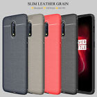 For OnePlus 8 7T 7 Pro/6T/6/5 Leather Soft TPU Shockproof Case+Screen Protector