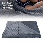 Winter Weighted Gravity Blanket Heavy Sensory Kid Adult Sleep Reduce Anxiety US image
