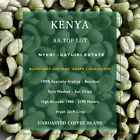 3 lbs Kenya Bourbon Nyeri AA Top Lot Raw Unroasted Green Coffee Beans Fresh Crop