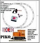 PIKO G SCALE 45mm GAUGE SELECT TRACK LAYOUT, CONTROLLER, ELECTRICS, LOCO