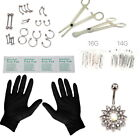 Kyпить 41 Pcs Professional Body Piercing Tool Kit Ear Nose Navel Nipple Needles Set на еВаy.соm