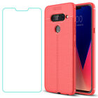 For LG V50 V40 V30 + G8 G7 G6 ThinQ 5G/Q7 +/K10 Shockproof Case/Screen Protector