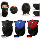 Winter Ski Half Face Mask Motorcycle Thermal Fleece Balaclava Neck Cover Hat Cap