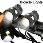2X Bike Bicycle Lights Rechargeable 15000LM T6 LED MTB Rear Front Headlight USB