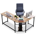 Modern Computer Desk L Shaped Gaming Desk Corner Desk for Small Space HomeOffice