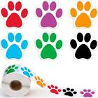 500 Pet Paw Foot Print Sticker Decal Walls Floors Kennels Balloons Cards Decor